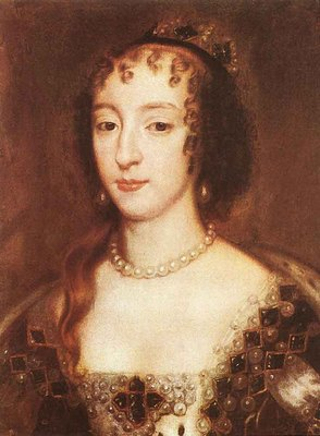LELY Sir Peter Henrietta Maria Of France Queen Of England