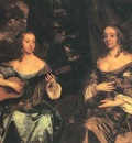 LELY Sir Peter Two Ladies Of The Lake Family