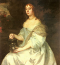 Lely Sir Peter Portrait Of Hannah Bulwer