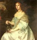 Lely Sir Peter Portrait Of Hannah Bulwer