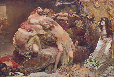 Solomon Solomon Samson and Delilah