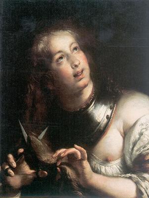 STROZZI Bernardo Berenice