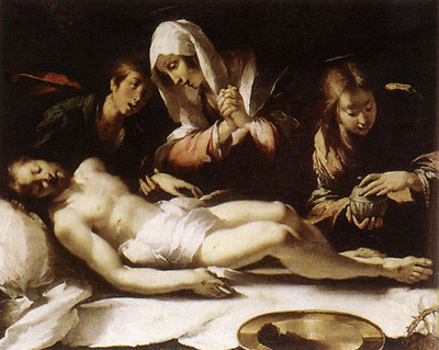 STROZZI Bernardo Lamentation Over The Dead Christ