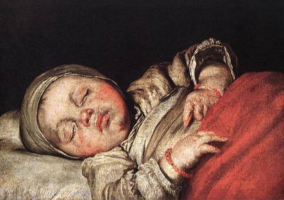 STROZZI Bernardo Sleeping Child