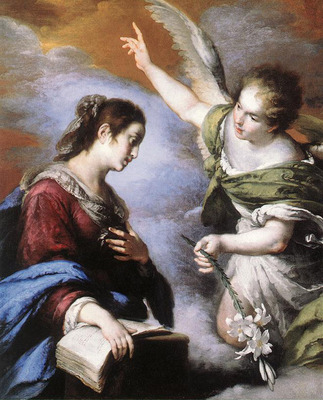 STROZZI Bernardo The Annunciation