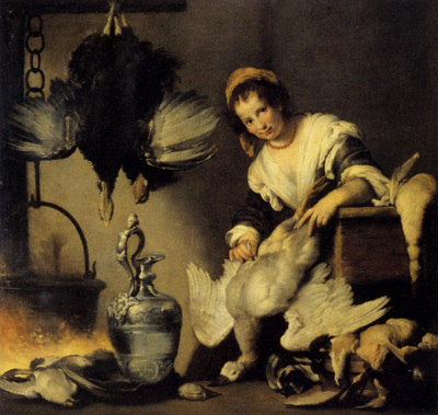 Strozzi Bernardo The Cook