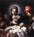 STROZZI Bernardo Adoration Of The Shepherds