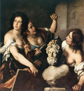 STROZZI Bernardo Allegory Of Arts