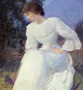 Portrait of a Woman in White ATN