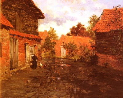 Thaulow Frits After The Rain