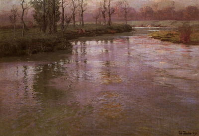 Thaulow Frits On The French River