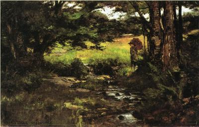 Steele Theodore Clement Brook in Woods