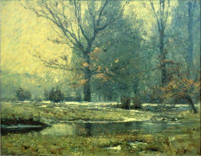Steele Theodore Clement Creek in Winter