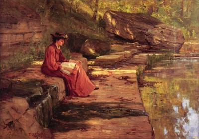 Steele Theodore Clement Daisy by the River