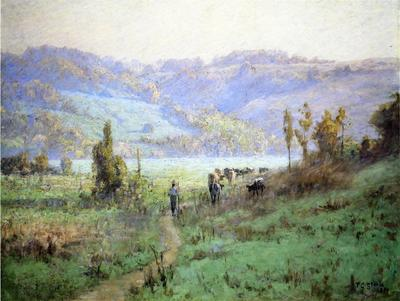 Steele Theodore Clement In the Whitewater Valley near Metamora