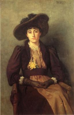 Steele Theodore Clement Portrait of Daisy
