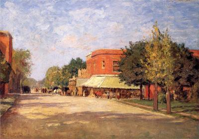 Steele Theodore Clement Street Scene