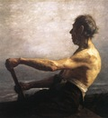 Steele Theodore Clement The Boatman
