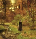 Steele Theodore Clement The Brook in the Woods