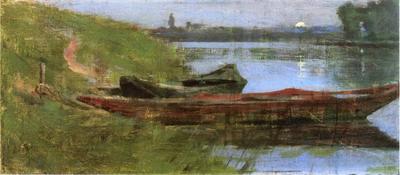 Robinson Theodore Two Boats