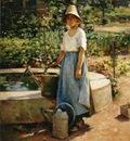 Robinson Theodore At the Fountain2