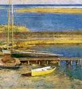 Robinson Theodore Boats at a Landing