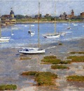 Robinson Theodore Low Tide The Riverside Yacht Club