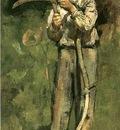 Robinson Theodore Man with Scythe