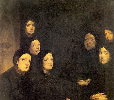 Ribot Augustin Theodule At the Sermon