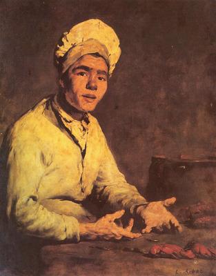 Ribot Theodule Augustin Le Cuisinier Aux Ecrevisses