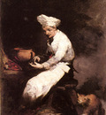 Ribot Theodule The Cook And The Cat