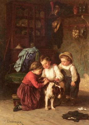 Duverger Theophile Emmanuel The Patient Pet