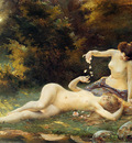 Thivet Antoine Auguste Springtime