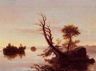Cole Thomas American Lake Scene