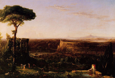 Cole Thomas Italian Scene Composition