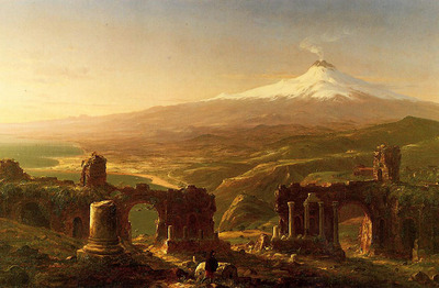Cole Thomas Mount Etna from Taormina