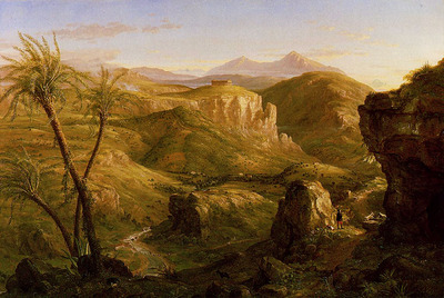 Cole Thomas The Vale and Temple of Segesta Sicily