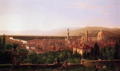 Cole Thomas View of Florence from San Miniato