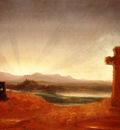 Cole Thomas Cross at Sunset