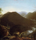 Cole Thomas Sunrise in the Catskill Mountains