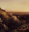 Cole Thomas The Cascatelli Tivoli Looking Towards Rome