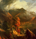 Cole Thomas View in the White Mountains c1827