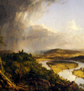 Cole Thomas view From Mount Holyoke Northampton Massachusetts