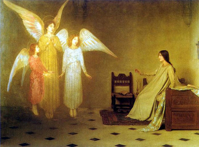 Thomas Cooper Gotch TheAwakening