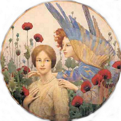 Thomas Cooper Gotch TheMessage