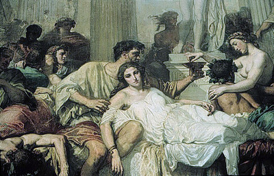The Romans of the Decadence detail2