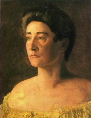 Eakins Thomas A Singer Portrait of Mrs  Leigo