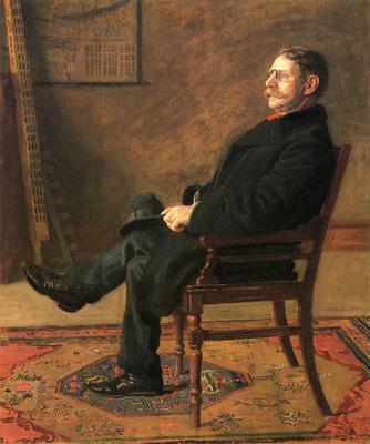 Eakins Thomas Frank Jay St  John