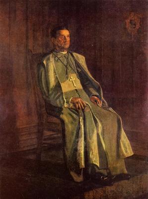 Eakins Thomas Monsignor Diomede Falconia