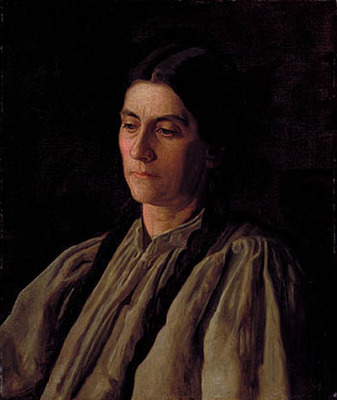 Eakins Thomas Mother Annie Williams Gandy